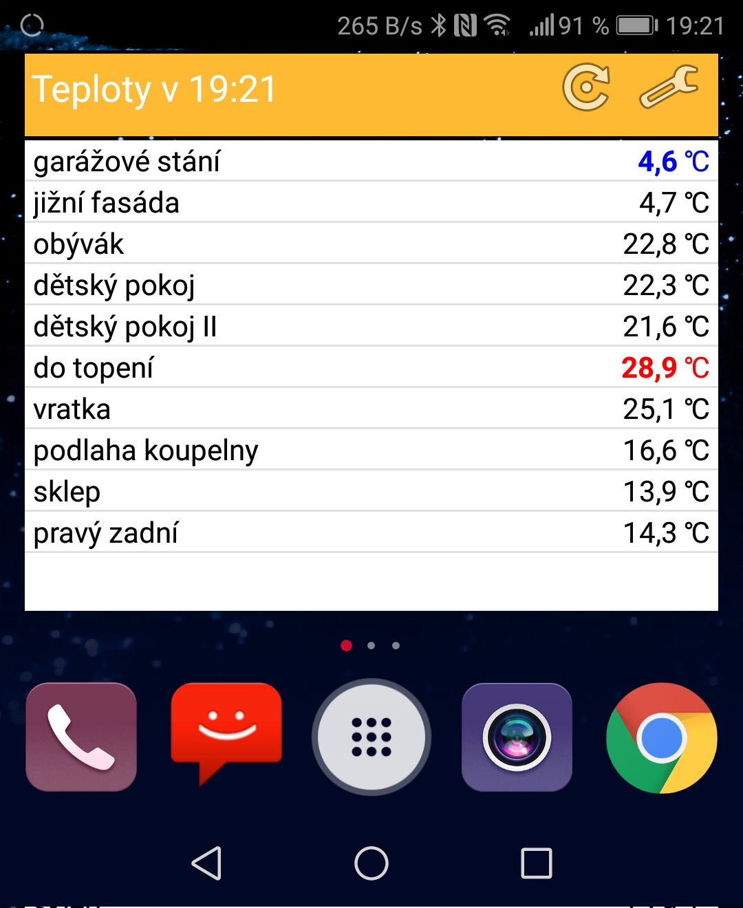 Android widget